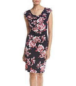 Connected® Printed Sheath Dress