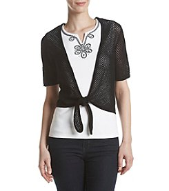 Alfred Dunner® Layered Look Knit Top