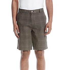 Weatherproof Vintage® Men's Plaid Flat Front Shorts