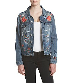BLANKNYC® Embroidered Denim Jacket