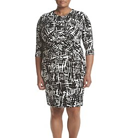 Calvin Klein Plus Size Shift Dress