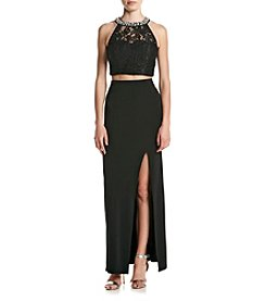 Speechless® Two Piece Slim Gown