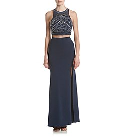 My Michelle® Two Piece Lace Gown