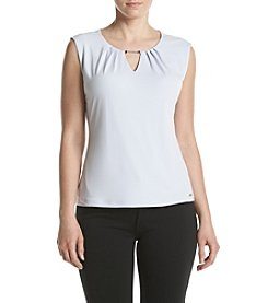 Ivanka Trump® Solid Matte Jersey Top