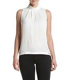 Ivanka Trump® High Neck Blouse