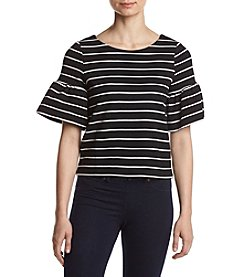Ivanka Trump® Striped Knit Top