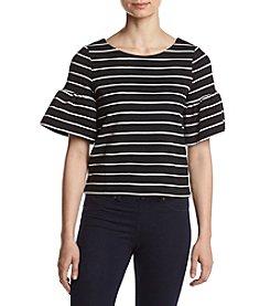 Ivanka Trump® Striped Knit Top