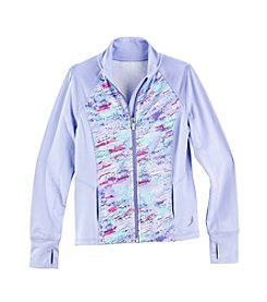 Exertek® Girls' 4-6X Digi Blocked Full Zip Jacket