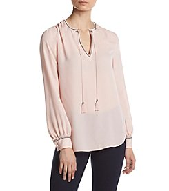 Ivanka Trump® Tie Neck Top