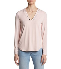 Ivanka Trump® V-Neck Top