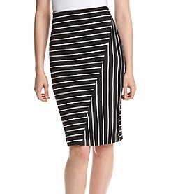 Ivanka Trump® Striped Skirt