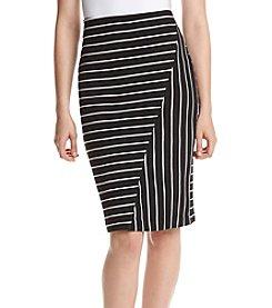 Ivanka Trump® Striped Skirt