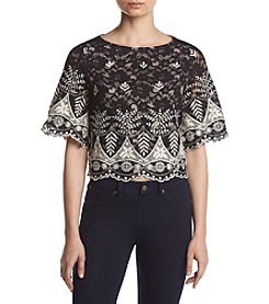 Ivanka Trump® Embroidered Blouse