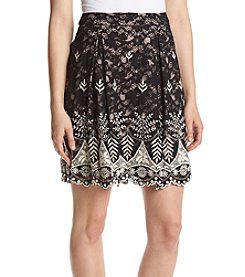 Ivanka Trump® Lace Trim Skirt