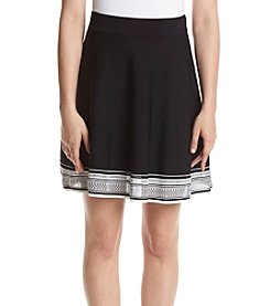 Ivanka Trump® Border Trim Skirt
