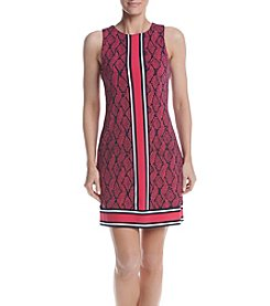 MICHAEL Michael Kors® Petites' Mamba Border Dress