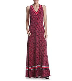 MICHAEL Michael Kors® Petites' Mamba Border Maxi Dress