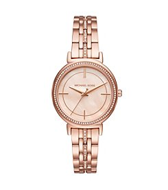 Michael Kors® Cinthia Rose Gold-Tone Three-Hand Watch