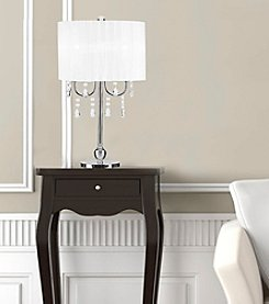 Catalina Lighting Glam Chandelier Table Lamp