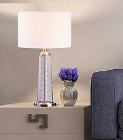 Catalina Lighting Malla Metal Mesh Table Lamp