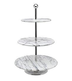 Godinger® La Cucina Marble 3-Tier Server