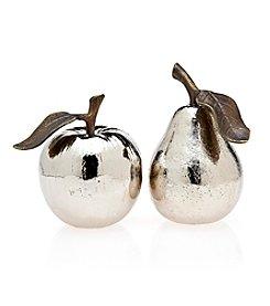 Godinger® Metallic Fruit Salt & Pepper Shakers
