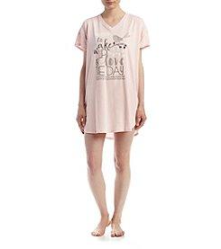 HUE® Wakey Wakey Sleepshirt