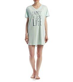HUE® Enjoy Life Sleepshirt
