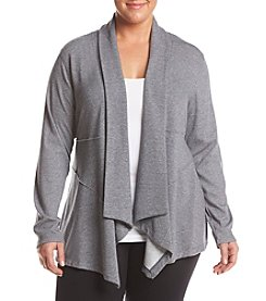 Calvin Klein Performance Plus Size Seamed Cardigan