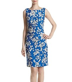 Ivanka Trump® Floral Printed Pleated Dress