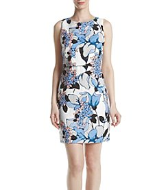 Ivanka Trump® Popover Printed Dress