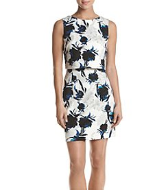 Ivanka Trump® Floral Popover Dress