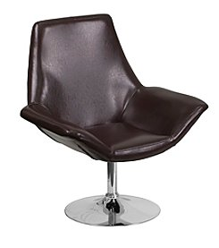 Flash Furniture Hercules Sabrina Series Leather Reception Chair