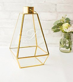 Cathy's Concepts Personalized Unity Gold Metal Lantern