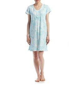 Miss Elaine® Paisley Nightgown