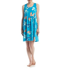 Jasmine Rose® Flip Flop Pajama Dress