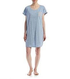 KN Karen Neuburger Chambray Sleepshirt
