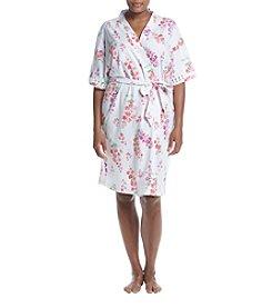 KN Karen Neuburger Plus Size Floral Kimono