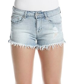 Celebrity Pink Fray Hem Shorts