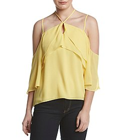 XOXO® Ruffle Off-Shoulder Top
