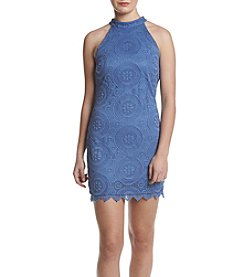 A. Byer Lace Bodycon Dress