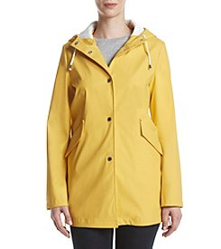 French Connection Hooded A-Line Rain Coat