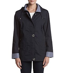 Mackintosh Petites' Zip Front Toggle Jacket