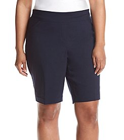 Studio Works® Plus Size Bermuda Shorts