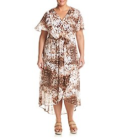 Relativity® Plus Size Savannah Maxi Dress