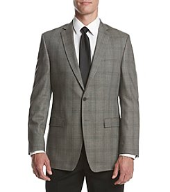 Calvin Klein Men's Plaid Slim Fit Sport Coat