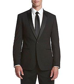 Calvin Klein Men's Jacquard Slim Sport Coat