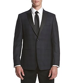 Calvin Klein Men's Check Slim Sport Coat