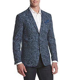 Tallia Orange Men's Paisley Sport Coat