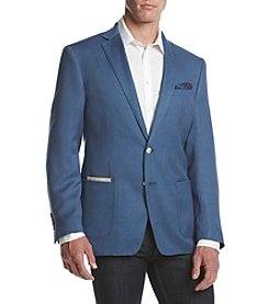 Tallia Orange Men's Hopsack Slim Fit Sport Coat